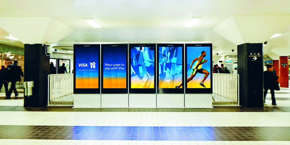 VISA Digital OOH Advertisement