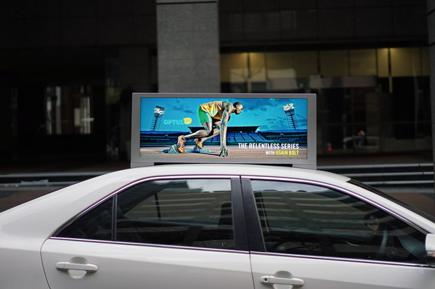 Taxi Top Advertisement